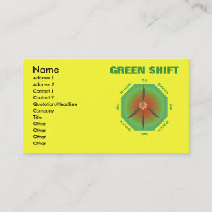 Go green business cards business card printing zazzle uk peace flower go green business card reheart Image collections
