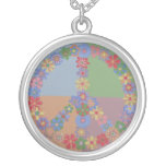 Peace Flowers Necklace