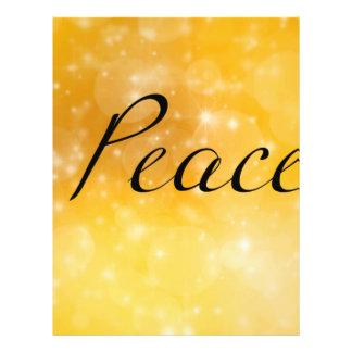 "Peace 8.5"" X 11"" Flyer"
