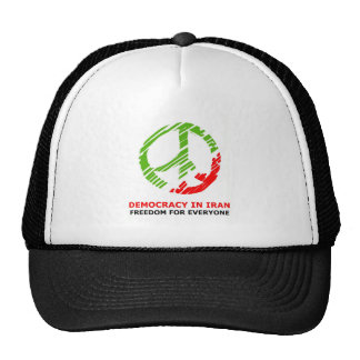 Peace for iran hat