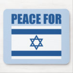 Peace for Israel Mousepads