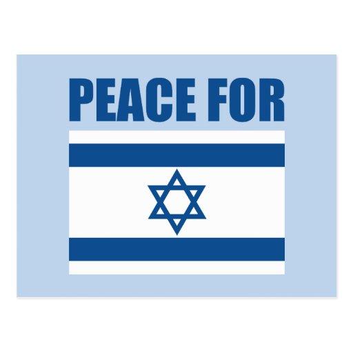 Peace for Israel Postcard