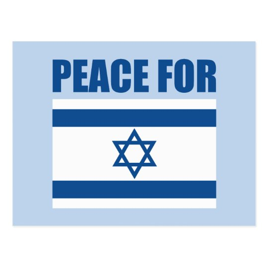 Peace for Israel Postcard
