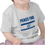 Peace for Israel T Shirts