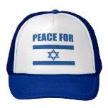 Peace for Israel Trucker Hats
