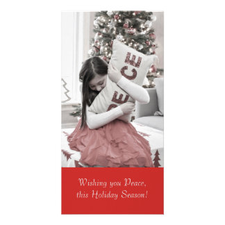 Peace for the Holidays Photo Cards