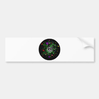 Peace Garden Bumper Sticker