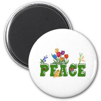 Peace Garden Magnet