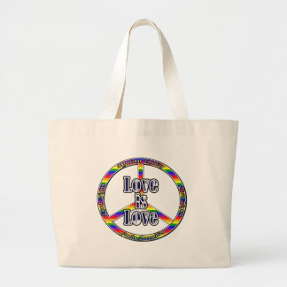 Peace Gay Rights Tote