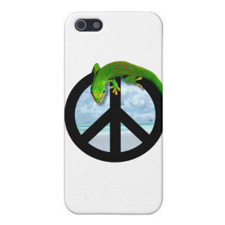 PEACE GECKO iPhone 5/5S COVER