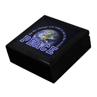Peace gift / jewelry box