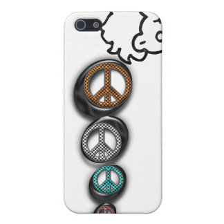 peace girl cover for iPhone 5/5S