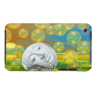 Peace – Golden and Emerald Serenity Barely There iPod Case