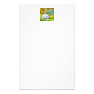 Peace – Golden and Emerald Serenity Customised Stationery