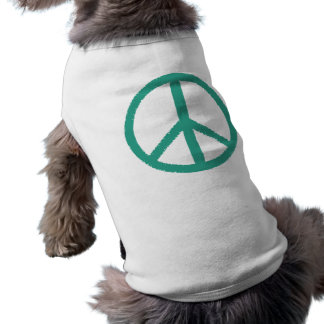 peace green shirt