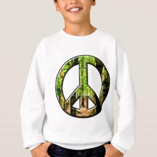 Peace Green Sweatshirt