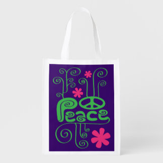 Peace Grocery Bag