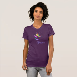 Peace & Harmony Statement, Abstract Art T-Shirt