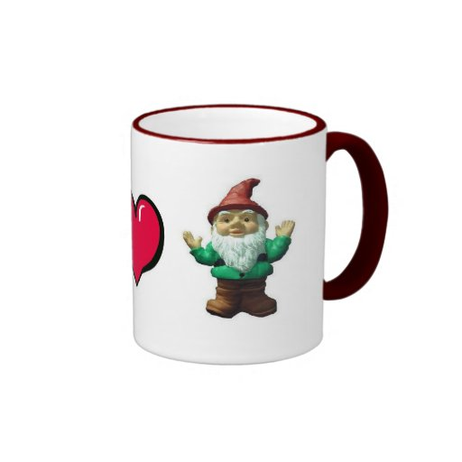 Peace Heart Gnome by FreeWitch Ringer Mug