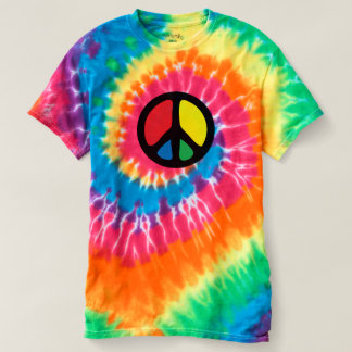 PEACE HIPPIE T-SHIRT