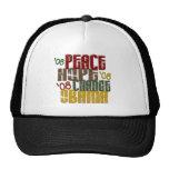 Peace Hope Change Obama 1 Trucker Hat