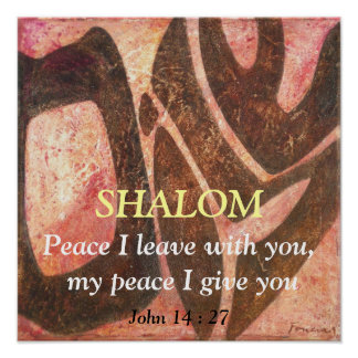 Peace I leave with you, my peace I gi... Poster
