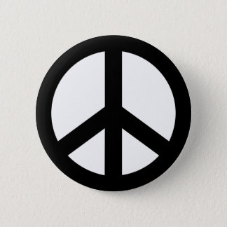 Peace icon 6 cm round badge
