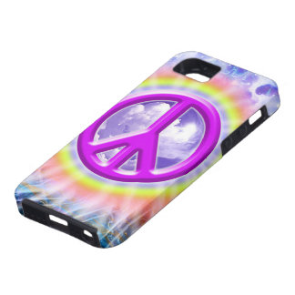 Peace In a Cloud of color iPhone 5 Cover