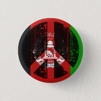 Peace In Afghanistan 3 Cm Round Badge