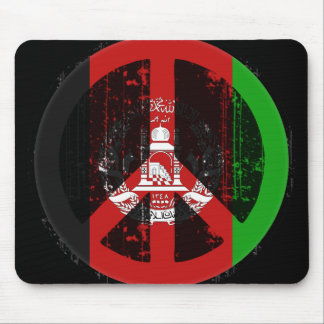Peace In Afghanistan Mouse Mat