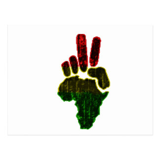 Peace in Africa Postcard
