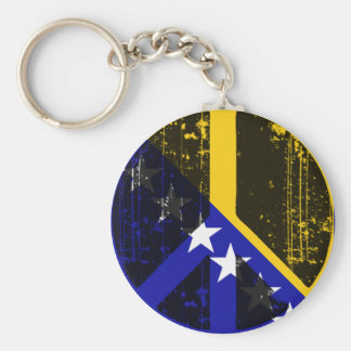 Peace In Bosnia Herzegovina Key Ring