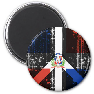 Peace In Dominican Republic Magnet