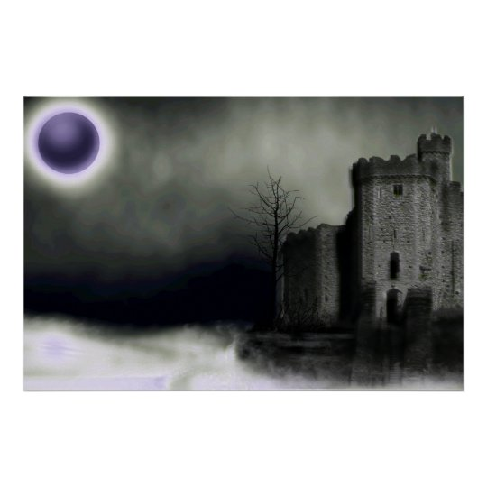 Peace In Dreams gothic Print