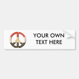 Peace in Egypt Bumper Stickers