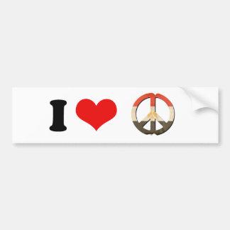 Peace in Egypt Car Bumper Sticker