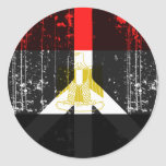 Peace In Egypt Classic Round Sticker