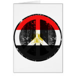 Peace In Egypt Greeting Cards