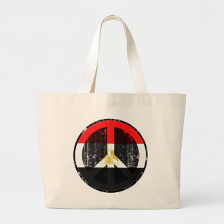Peace In Egypt Large Tote Bag