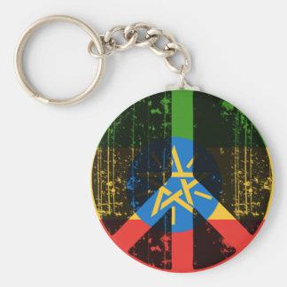 Peace In Ethiopia Key Ring