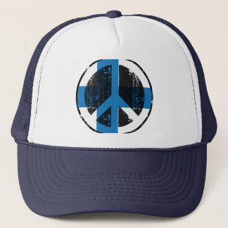 Peace In Finland Trucker Hat
