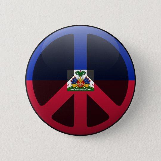 Peace in Haiti 6 Cm Round Badge
