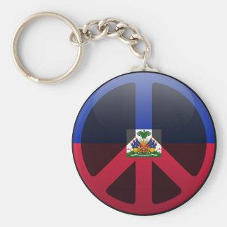 Peace in Haiti Key Ring