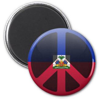 Peace in Haiti Magnet