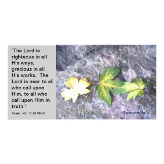 Peace in His Presence Photo Greeting Card