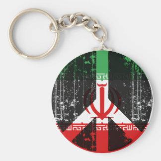 Peace In Iran Key Ring