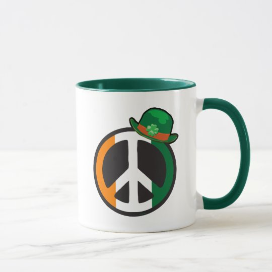 PEACE IN IRELAND MUG