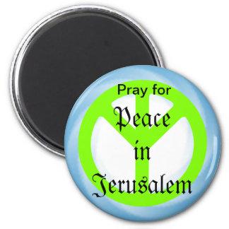 Peace in Jerusalem magnet