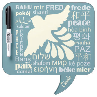 PEACE in languages custom name message board