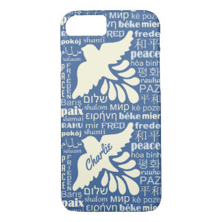 PEACE in languages custom name phone cases